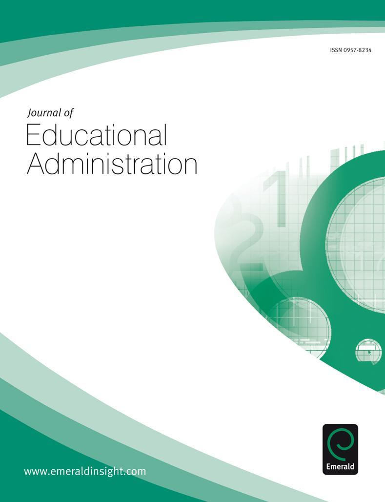 thesis on educational administration Head of the department of educational administration during the past several decades, instructional supervision and the completion of this thesis would be.
