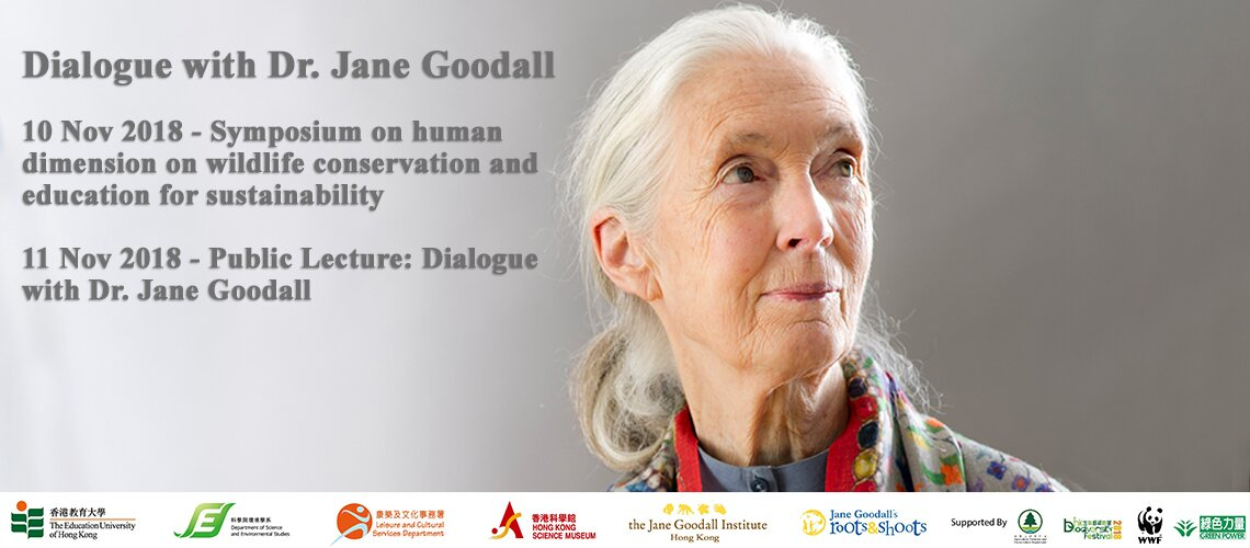 Dialogue with Dr Jane Goodall