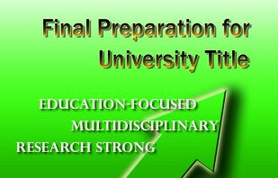 HKIEd submitted the report on Final Preparation for University Title to the Education Bureau