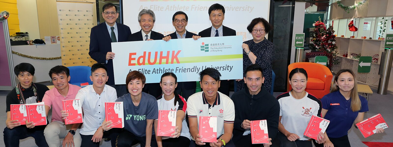 Book Launch of Dual Career Pathway of Elite Athletes