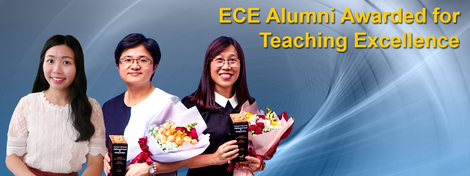 ECE Alumni Awarded for Teaching Excellence