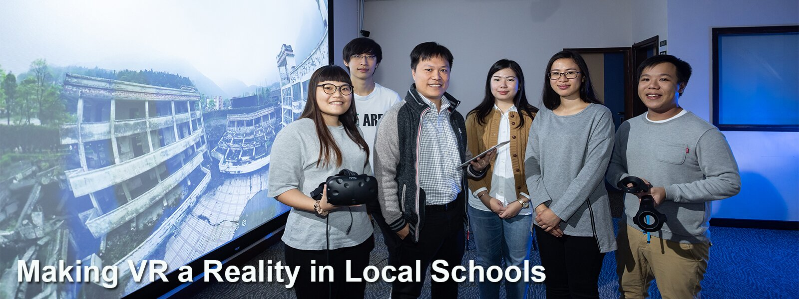Making VR a Reality in Local Schools