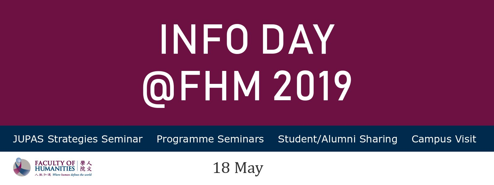 Information Day @ FHM 2019