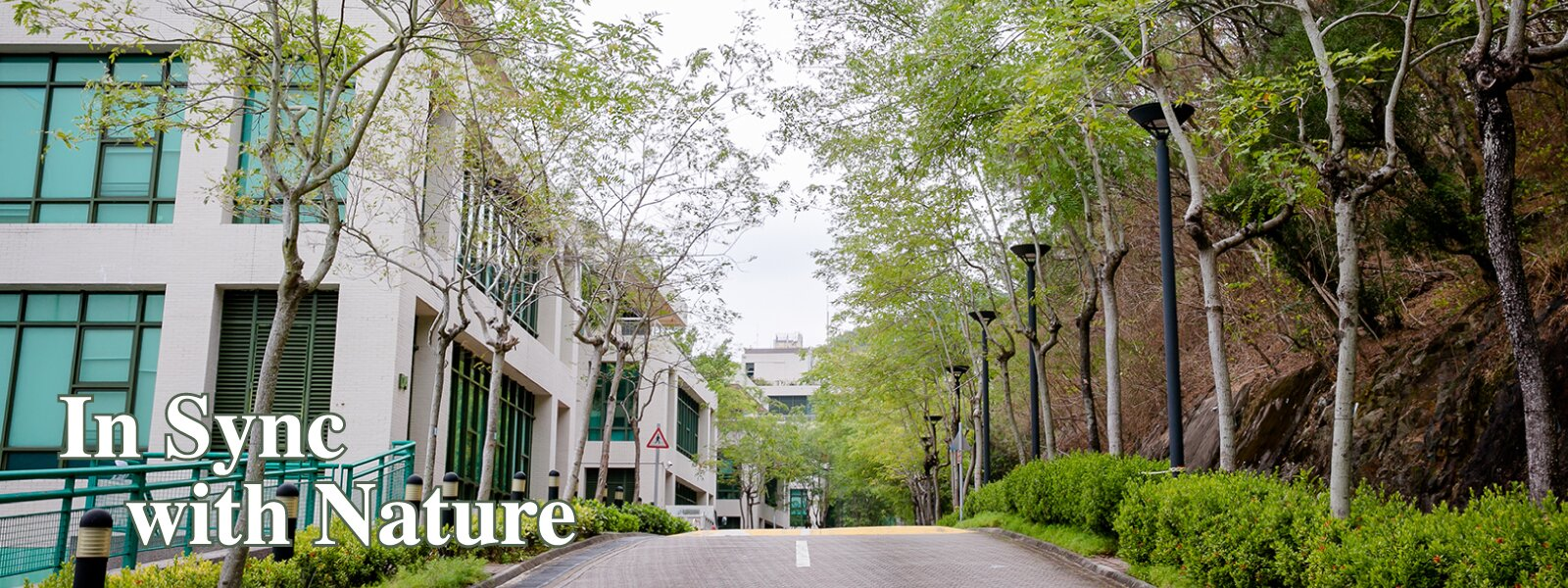 EdUHK campus-In Sync with Nature