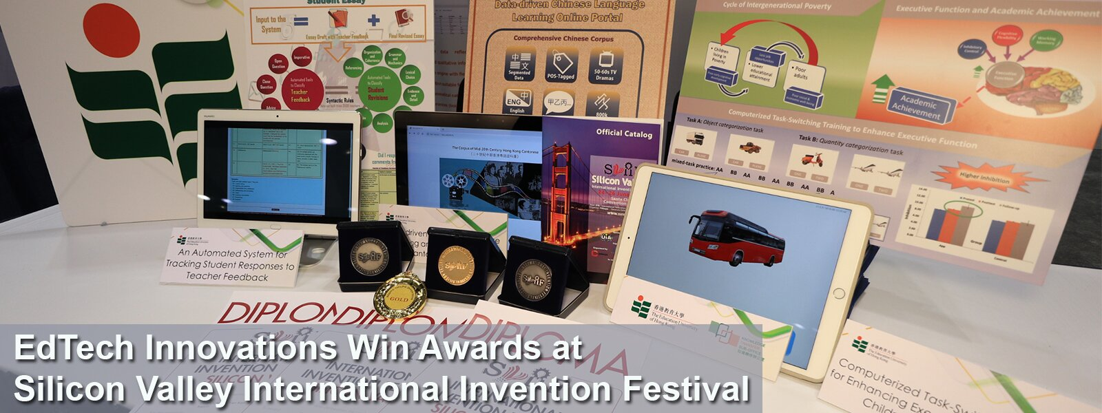 EdTech Innovations Win Awards at Silicon Valley International Invention Festival