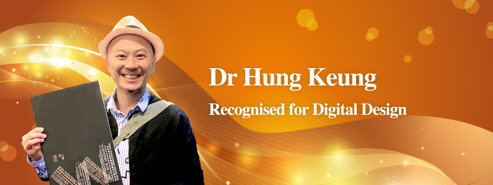 Dr Hung Keung Recognised for Digital Design