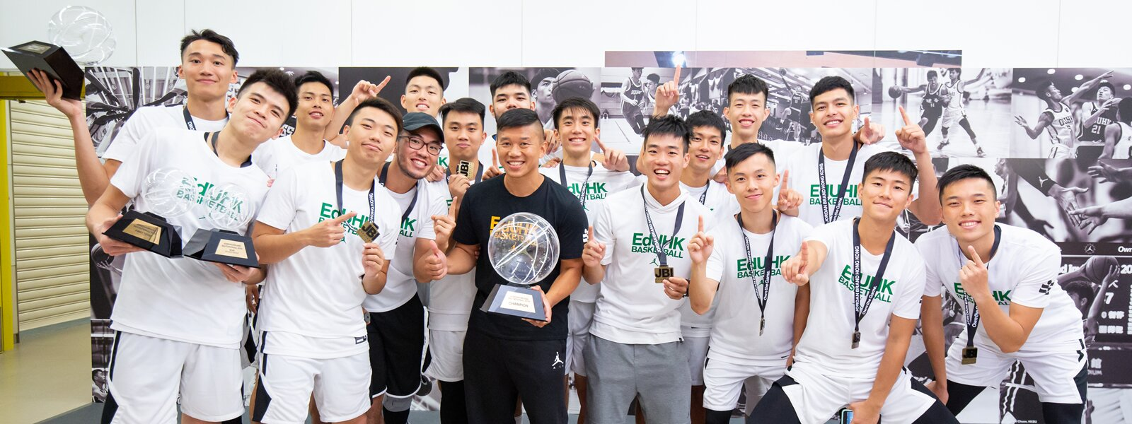 EdUHK Men's Team Takes the Championship in Inter-university Basketball Tournament