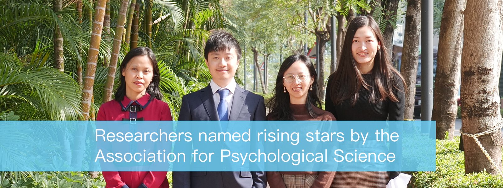 Researchers Named Rising Stars by the Association for Psychological Science