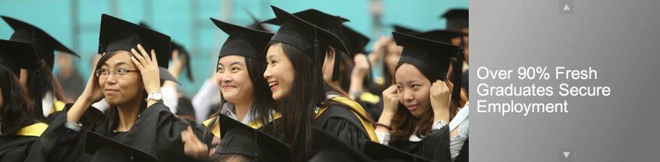 Over 90% Fresh Graduates Secure Employment