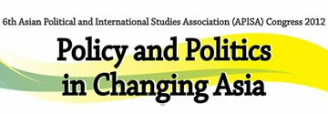 Asian Political and International Studies Association Congress 2012