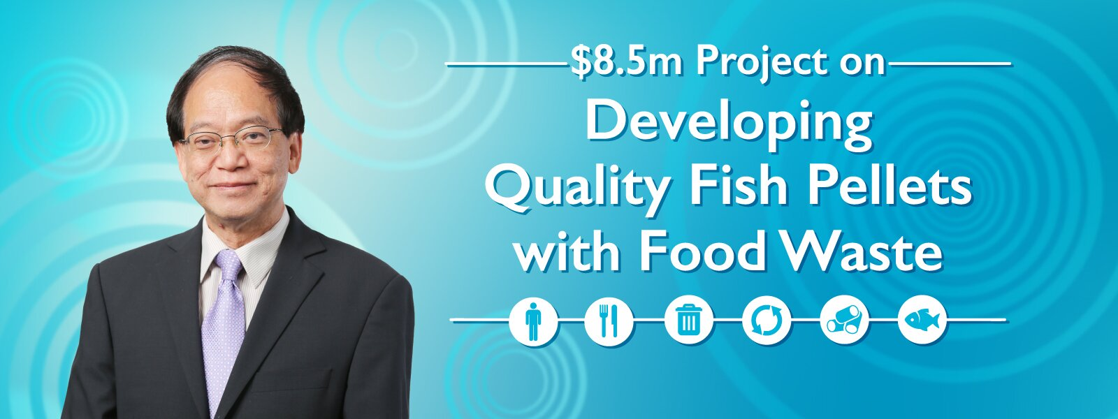$8.5m Project on Developing Quality Fish Pellets with Food Waste