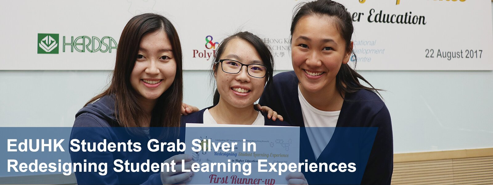 EdUHK Students Grab Silver in Redesigning Student Learning Experiences