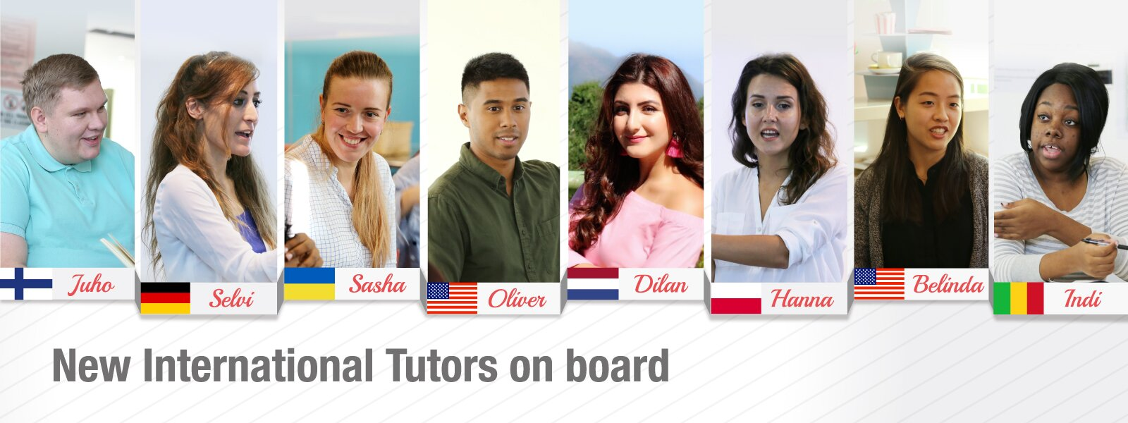 New International Tutors on board