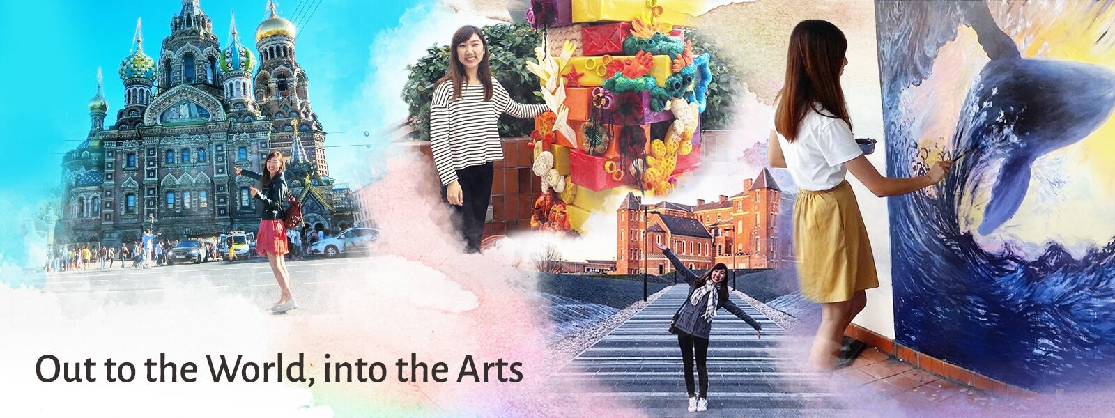 Out to the World, into the Arts