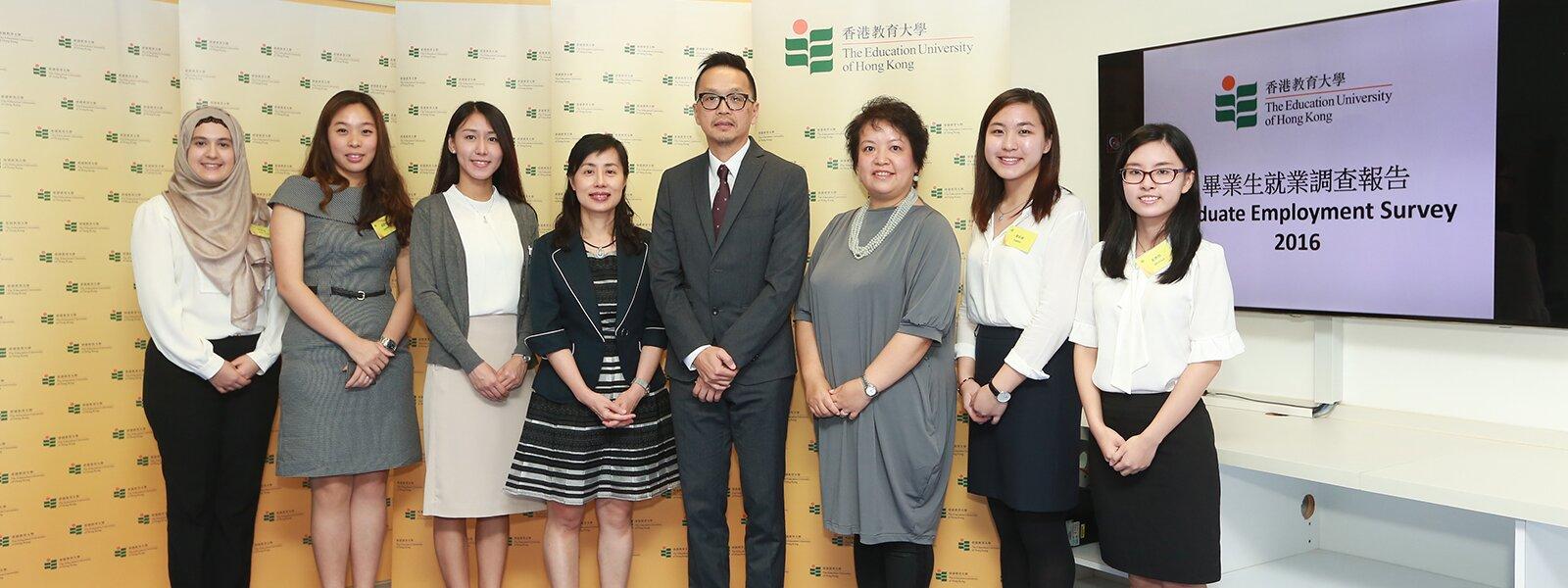 EdUHK Survey: Starting Salary for Education Graduates Approaches HK$25,000