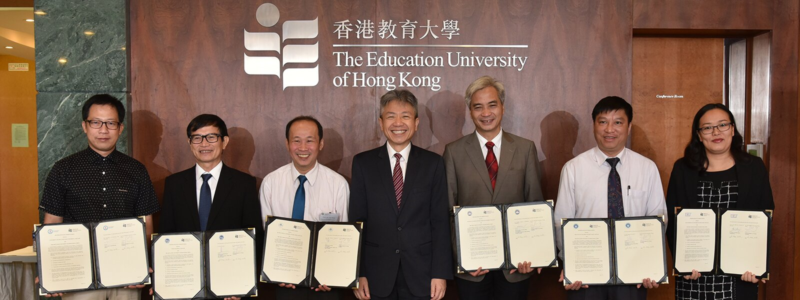 EdUHK Signs MOU with Six Vietnamese Leading Teacher Training Universities