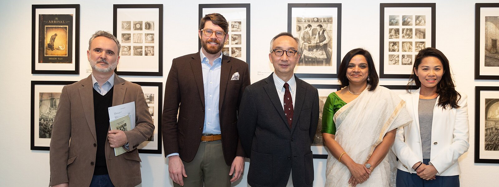 """A Foreign Land, A New Home: Shaun Tan's The Arrival"" Exhibition"