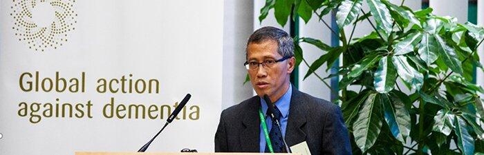 郑相德教授世界认知症议会峰会演说