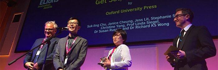 幼儿教育学者荣获英语创新国际大奖