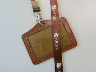 ID Holder with Lanyard (Horizontal)