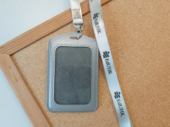 ID Holder with Lanyard (Vertical)