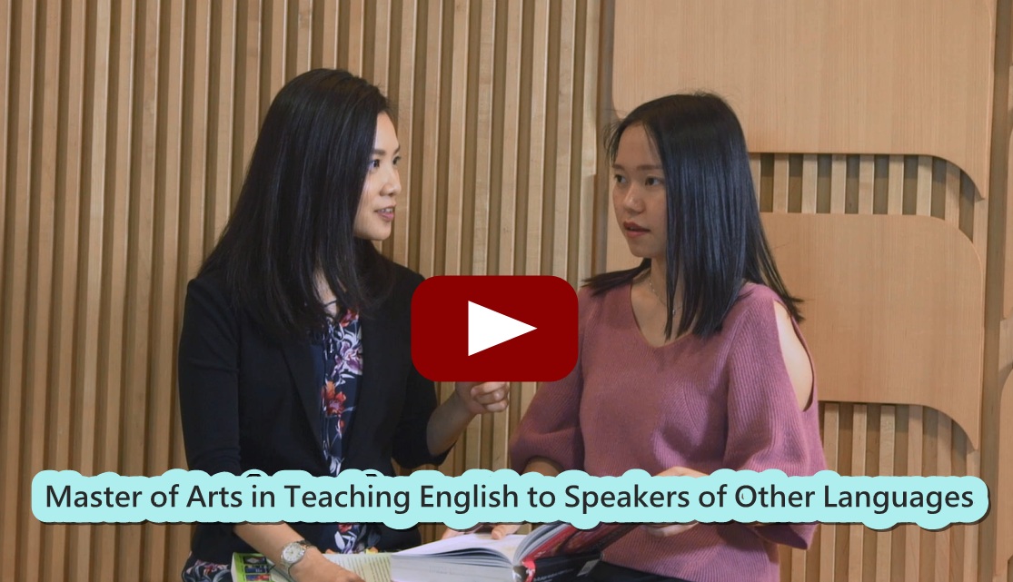 Master of Arts in Teaching English to Speakers of Other Languages