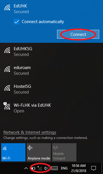 how do you connect to a wireless network windows 10