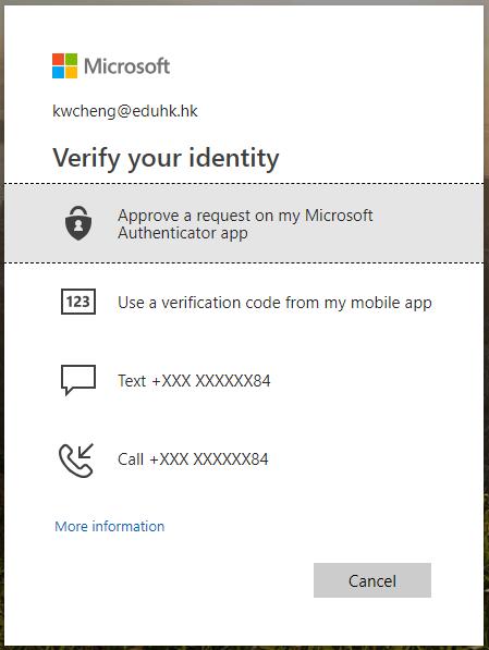 FAQ: How many ways I can use to verify my identity for
