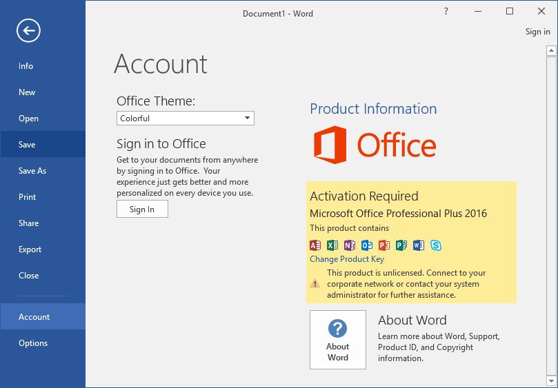 office 2016 pro plus product key 2019