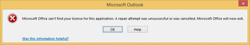 microsoft office repair